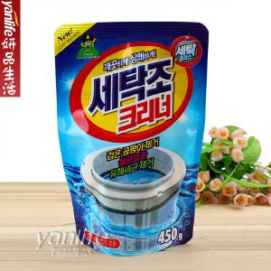 韓國 山小怪 洗衣机内筒清潔剂 洗衣机槽清洗剂 450克