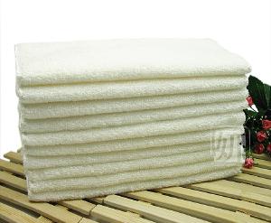 韩国 100%纯竹纤维双层不粘油洗碗巾/抹布(散装大号)30*25cm