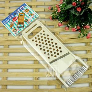 日本原装进口多用刨子 日本擦泥器/磨泥器 擦板切片器 波纹工具