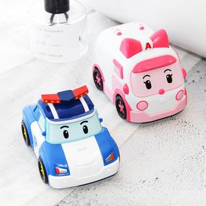 韓國我珂愛POLI珀利變形警車嬰幼兒童面霜水潤膚霜保濕膚親濕癢霜