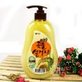韩国进口爱敬纯谷物洗洁精 天然米糠洗涤剂 高级厨房洗涤液 750ml