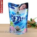 韩国 山小怪  全自动滚筒洗衣机柔顺剂1300ML 蓝色