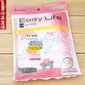 韩国 AZALEA3P花色小号毛巾 纤维洁面毛巾 3条装印花小方巾