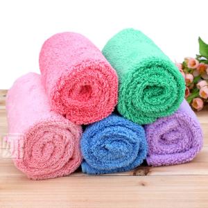 优质大号长毛绒美容毛巾 护肤洁面巾 擦脸毛巾 干发巾80*40厘米