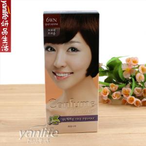 韓國水果之乡 可芬CONFUME 染发剂/染发膏6WN可可果褐色