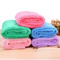 优质小号长毛绒美容毛巾 护肤洁面巾 擦脸毛巾干发巾62*32厘米