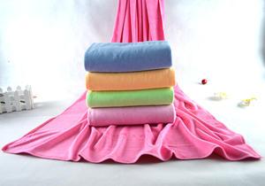 韩国DY超细纤维大浴巾 沙滩巾75*150