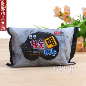 韓國AIG木炭竹炭去灰皂 免搓去泥皂 洗澡不用搓 200g