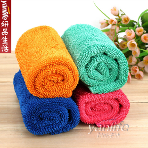 韩国最新拧丝绒家居抹布 加厚地板抹布/擦车巾 神奇瞬间吸水