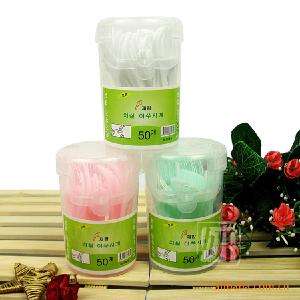 韓國牙線  牙签/牙线棒/经济装/50支装  个人清洁用品