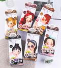 韩国fascy发希泡泡沫染发剂 黑色褐色彩色 遮白发染发膏