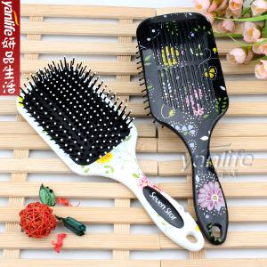 韓國七星花系列保健按摩梳子 气囊按摩梳子 方形大号24.8cm 2390