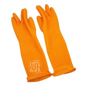 韓國  胶皮手套 加长加厚防滑 超好用 家庭不伤手