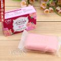 韓國 LG ON THE BODY系列香水皂  香皂 保湿美容皂 粉色款  90G